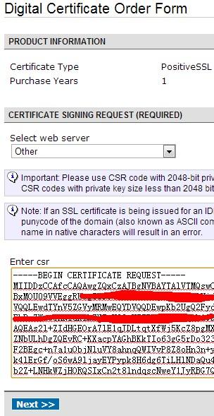 如何使用NameCheap赠送的SSL安全证书